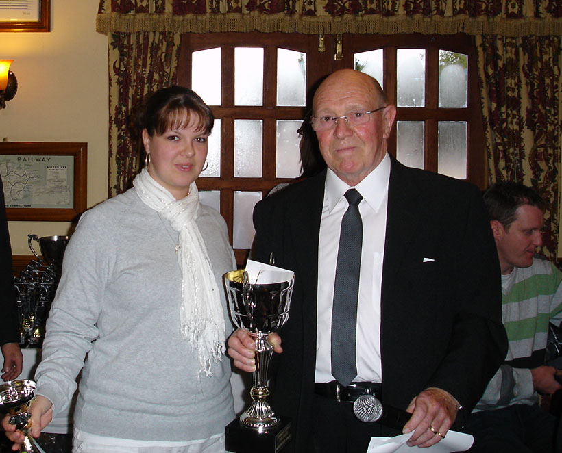 Mixed Doubles Winners - Lloyd and Alison Baker