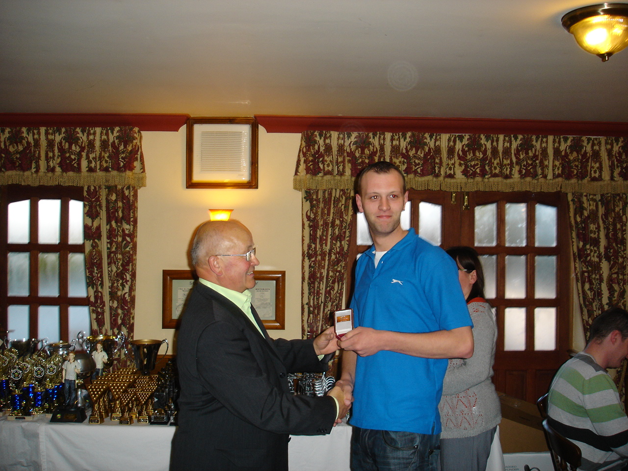 8 Ball Winner - Andy Grindley