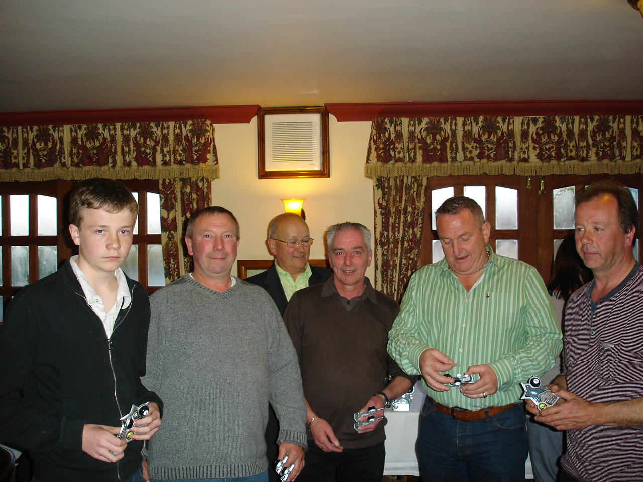 Team Doubles Runners Up - Gamekeepers