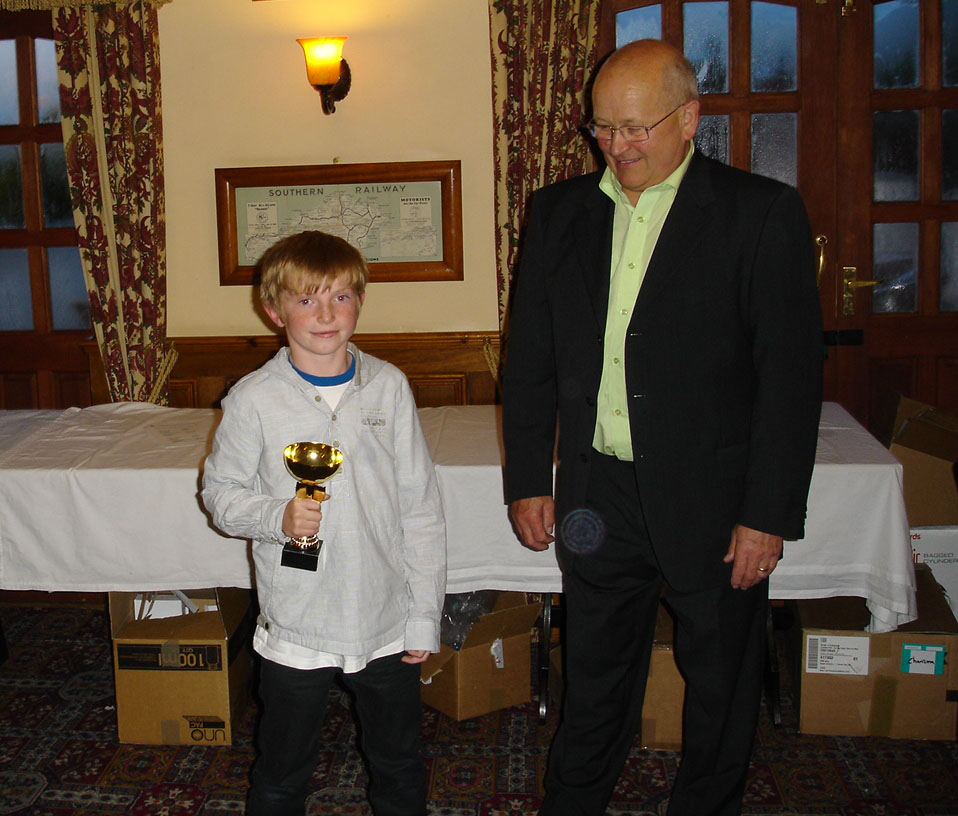 Chairmans Award - Promising young player - Sam P