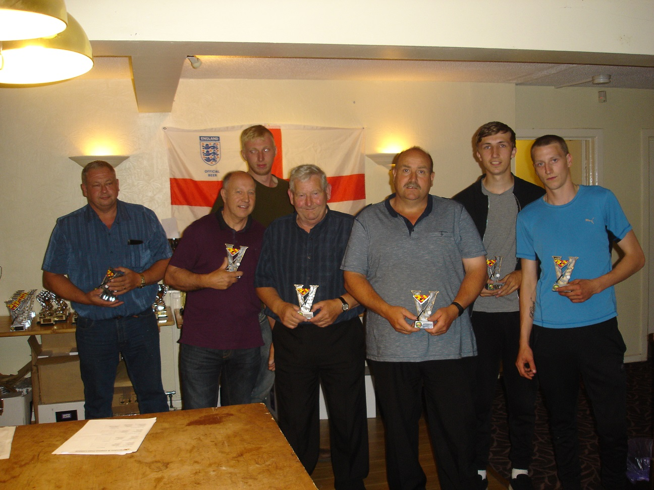Team Doubles Runners Up - Dee Rangers