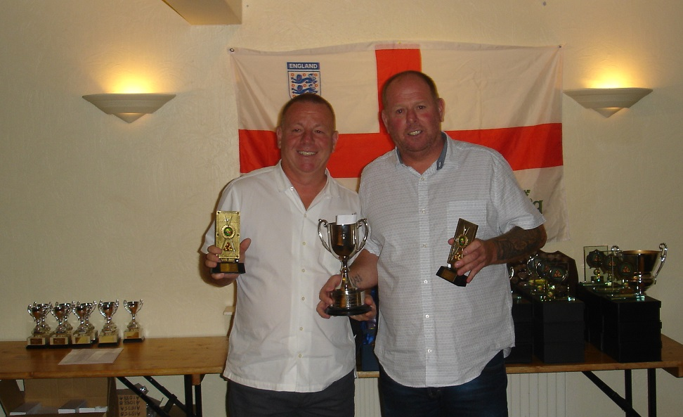 Doubles Winners - Ant Formstone and Mike McGrath