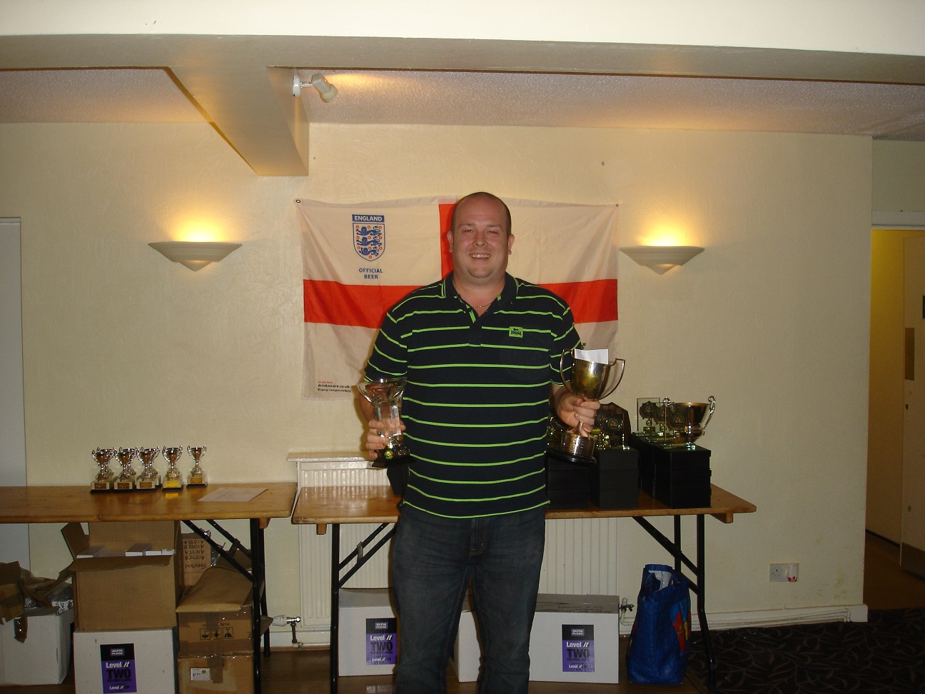 Singles Winner - Lee Venables
