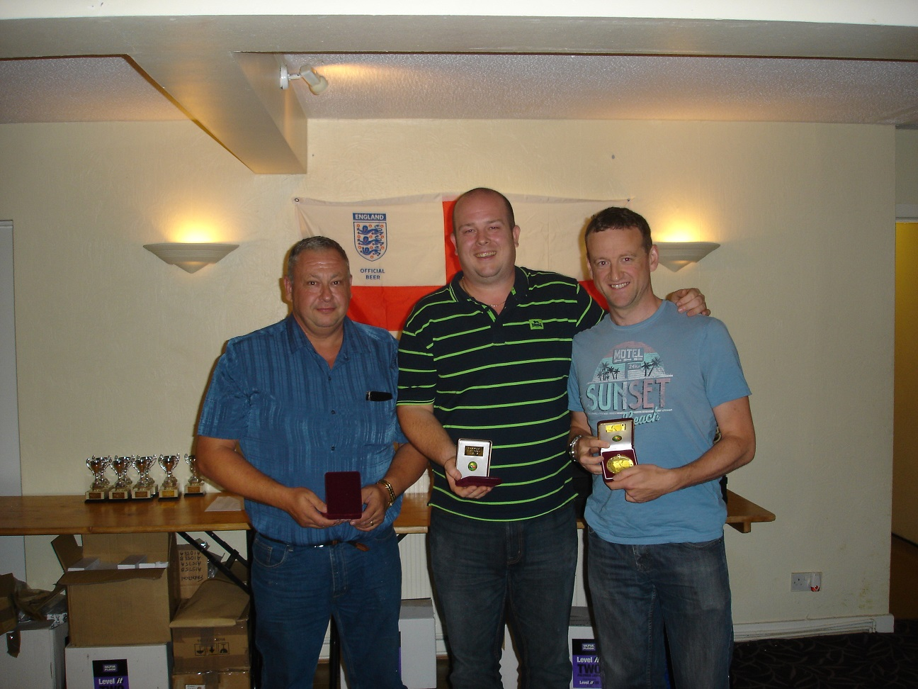 2 * 8 Ball Winner - Paul Phillips Lee Venables Richard Jones