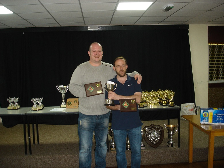 Doubles Winners - Lee Venables and Graham Smith